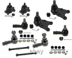 12 Pcs For Isuzu Trooper LS SE XS 2.8L Ball Joints Tie Rods Sleeves Sway Bar New