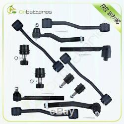 12pc Steering Parts Kit Control Arm& Ball Joint for 1999-04 Jeep Grand Cherokee