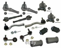 14 Pcs Steering For Mitsubishi Montero 3.8L 3.5L Ball Joints Tie Rods New Kit