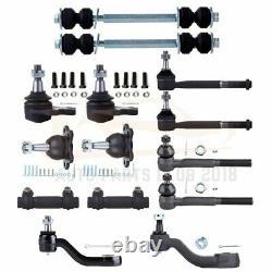 14Pcs New Suspension Parts Tie Rod End Fits 1994 1995 Chevrolet K1500 K2500 4WD