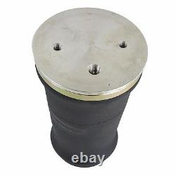 2 tapered sleeve air bags single 1/4npt port air ride suspension rolled spring