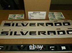 2019 Chevrolet Silverado Duramax RST Black 6 Piece Emblem Kit84806937OEM GM19