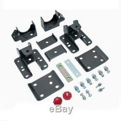 3-5 Drop Control Arm Lowering Kit with Shocks For 2007-2014 Chevy Silverado 2WD
