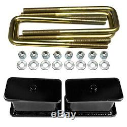 3.5 Front 3 Rear Lift Kit with Control Arms For 2017-2019 Chevy Silverado GMC