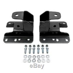 4-6 Drop Arm Lowering Kit with Axle Flip Kit For 2007-2014 GMC Sierra 1500 2WD