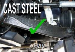 4-6 Drop Control Arm Lowering Kit For 2007-2014 Chevy Silverado GMC Sierra 2WD