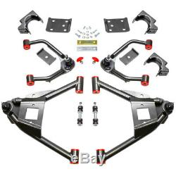 4-7 Drop Arm Lowering Kit with Axle Flip Kit For 2007-2014 Chevy Silverado 2WD