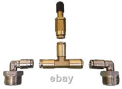 Air Helper Spring No Drill Bolt On Over Load Kit For 2011-16 Ford F250 F350 4x4