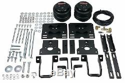 Air Over Load Helper Spring Kit withWhite Gauge & Tank For 2005-10 Ford F250 4x4