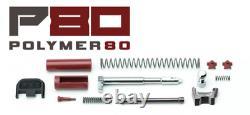 BEST Upper Slide & Lower Parts Frame Kit for Glock 17 GEN 3 & P80 PF940v2 9mm