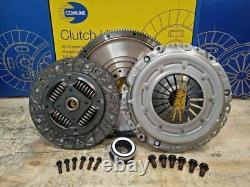 Clutch Kit Fit Solid Flywheel Set Vw Touran Mpv 1.9 Tdi 105hp Diesel