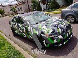 Custom Camo Car Truck Decal Full Body Livery Vinyl Wrap Urban Camouflage Kit
