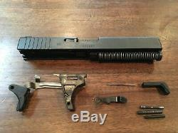 Factory OEM Gen 3 Glock 22 Complete Upper SlideTrijicon NS Parts Kit for P80 LPK