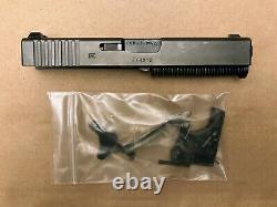 Factory OEM Gen 3 Glock 23 Complete Upper Slide w NS Parts Kit for P80 GEN3 FKN
