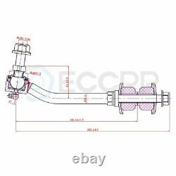 Fit For Chrysler Aspen Dodge Brand New Control Arm Tie Rod End Stering Parts 10x