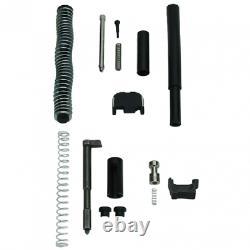 For Glock 17 Gen 3 9mm Barrel + Upper Completion Kit + Lower Parts Kit Poly 80