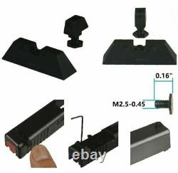 For Glock Gen 1-3 G17 Upper Slide Parts Kit 9mm Genuine FACTORY Glock OEM Parts