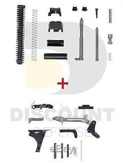 For Glock Upper Slide & Lower Part Kits Glock 19 Gen3 OEM Factory Part EXTENDED