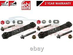 For Vectra C Rear Axle Lower Bottom Wishbone Control Arm Nut Bolts Pro Kit Pair