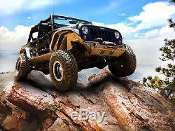 Front Adj MaxTrac Upper/Lower Control Arm Kit For 2007-2018 Jeep Wrangler JK