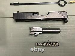 GLOCK 43X OEM Parts Kit +Upper Slide Assembly with Barrel P80 G43 SIZE SLIDE
