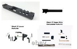Gen 3 Glock 17 Vortex Venom Cut Slide + Barrel + Upper Slide & Lower Parts Kits