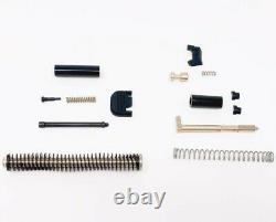 Gen 3 Glock 19 Slide + 9mm Barrel RMR Ready + Cover + Upper Parts Completion Kit