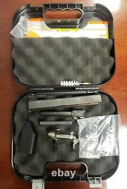Glock 17 Gen 3 OEM Complete Upper & Frame Parts Kit with Case