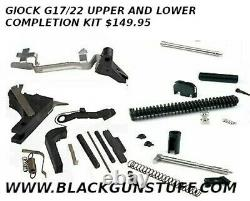 Glock 17 Lower and Upper Parts Completion Kit Polymer 80 80%Frames