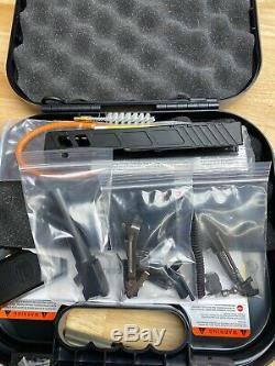 Glock 19 Gen 3 Slide, OEM Barrel, Upper & Lower Parts Kit & Case Complete Kit