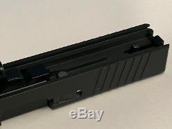 Glock 19 Slide, 2x Serrations, Barrel, and FULL Upper Parts Kit, G19 Gen3