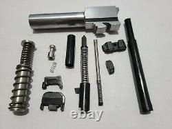 Glock 26 Gen 1-4 Upper Parts Kit 9mm, Barrel, Recoil Glock Glow Sights