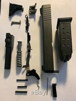 Glock 26 Gen-3-4 OEM Slide Barrel Upper Lower Parts Kit Case 1-Mag +Night SIghts