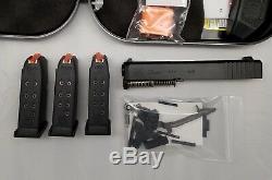Glock 26 Gen-3-5 OEM Slide Barrel Upper Lower Part Case 3-Mag-azines 9-MM Kit
