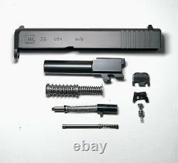 Glock 26 Gen 3 9mm New! Nitride Complete OEM Slide/Upper PARTS KIT/PF940SC/P80/
