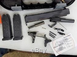 Glock 26 Gen 3 Slide Barrel Upper & Lower Parts Kit-MATCHING Case-9MM P80 BUILD