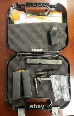 Glock 43 43X OEM Complete Slide/Upper & Frame Parts Kit withCase & 2 Magazines