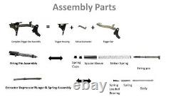Glock 43/43x/SS80 Complete Lower and Upper Parts Kit (CPK). No sights & barrel