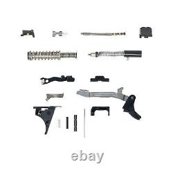 Glock 43 Complete Lower Kit and Upper Parts Kit with 5.5 lb Trigger Connector