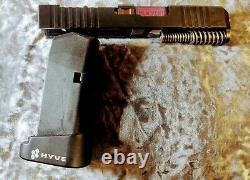 Glock G26 complete Slide, OEM upper parts kit, Blacklist industries barrel+Mag