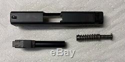 Glock G43 OEM Slide, Upper Parts Kit, Lower Parts Kit, Box & Mags SS80 NEW