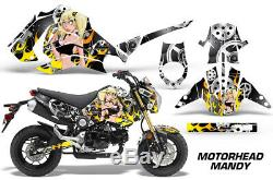 Graphics Kit Decal Sticker Wrap For Honda GROM PARTS 125 13-16 MOTORHEAD MANDYS