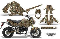 Graphics Kit Decal Sticker Wrap For Honda GROM PARTS 125 13-16 WOODLAND CAMO