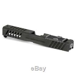 Grey Ghost Precision Assembled Slide with RMR Cut for Glock 17 Gen 4, Version 1