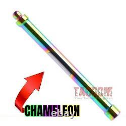 L2D COMBAT ENHANCED Upper Slide Parts Kit For Glock 9MM Stainless CHAMELEON ROD