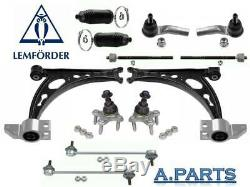 Lemförder Set Control Arm 12TLG Front Audi A3/VW Golf Jeta / Seat Leon Toledo
