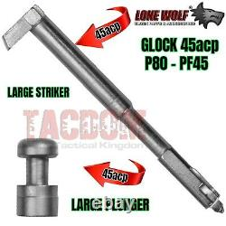 Lone Wolf Slide & Lower Frame Parts LWD Kit PF45 With Gen 3 Trigger 10mm Glock 20