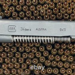 OEM Glock 34 Gen 4 Complete Upper Slide Assembly 34Gen4 9mm 9x19 Parts Kit Black