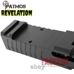 PATMOS Arms REVELATION slide for Glok 19 & P80 PF940C + Parts Kit + Barrel USA