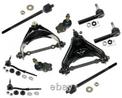 RWD Front End Kit Dodge Dakota Upper Control Arms Inner Outer Tie Rods Sway Bar